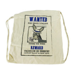 Canvas backpack bag - Wanted