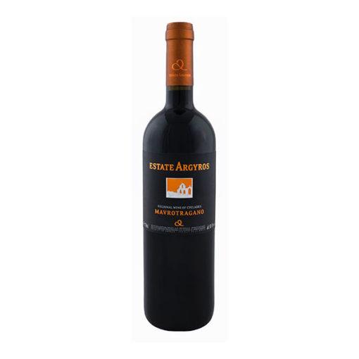 Mavrotragano Argyros Wine